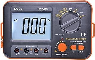 VC60B+ Digital Insulation Resistance Tester DCV ACV Meter