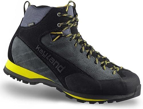 KAYLAND chaussures Man Vertex Mid GTX gris-jaune