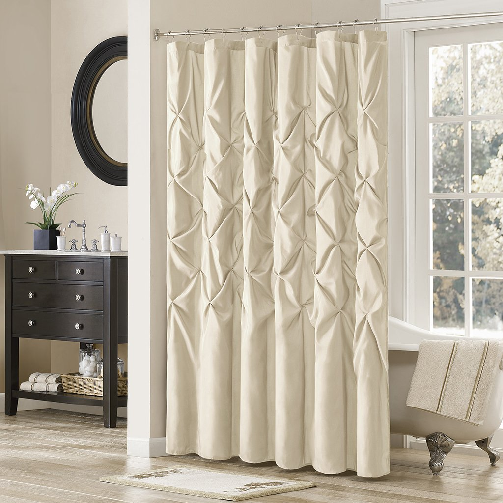 Madison Park Shower Curtain Brand Cheap Sale Venue Sale price Geometric Textured Mo Design Tufted