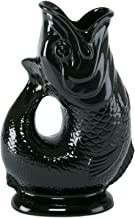 Wade Ceramics Black Gluggle Jug Pitcher, X-Large