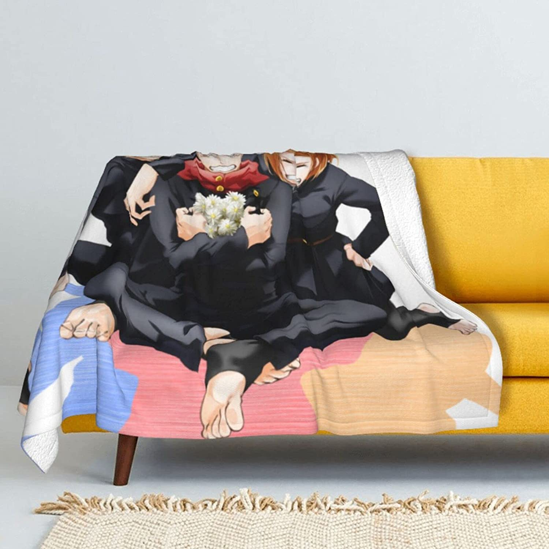 Itadori Yuji Blanket Ultra Soft discount Fleece Cash special price Micro An Japanese