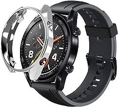 sciuU Funda para Huawei GT Active 46mm, Carcasa Protectora para Huawei GT Active Smart Watch, Flexible Suave TPU Protectora Resistente a los Golpes Shell Protector - Plata