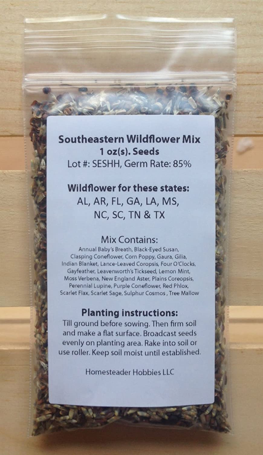 South free shipping Carolina Wildflower Seed Japan's largest assortment Ounce Mix 1
