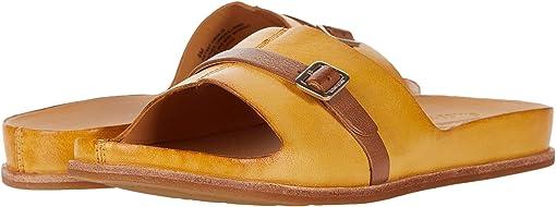 Yellow Full Grain Leather