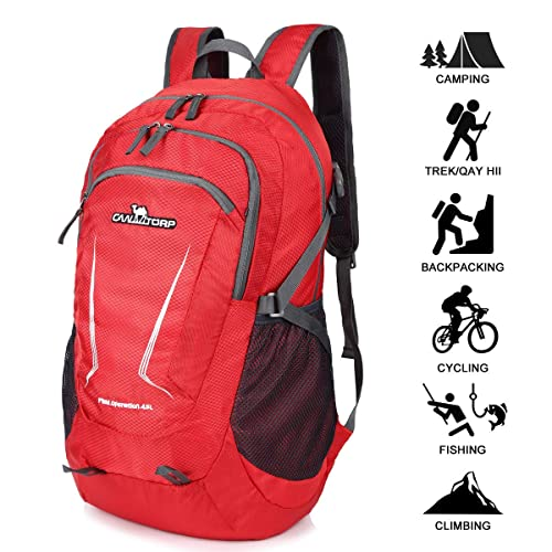 Loocower 45L Packable Ultralight Hiking Backpack b844f91fc3ee6