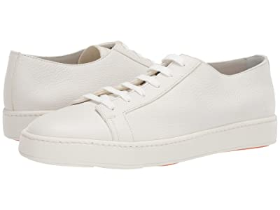 Santoni Cleanic Sneaker (White) Men