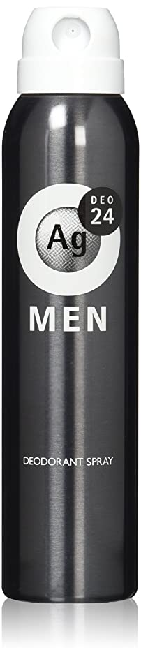 大いにワックス啓発するエージーデオ24 メンズ デオドラントスプレー 無香性 100g (医薬部外品)