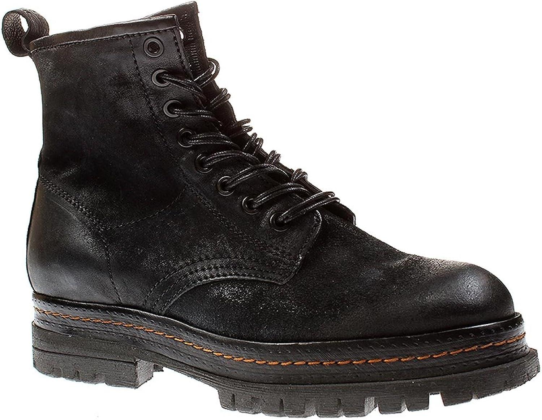 A.S.98 509201 - Damen Schnürschuhe Stiefelette Stiefel - 6002-schwarz