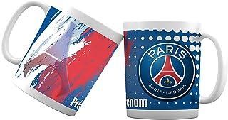 Mug tasse personnalisé Foot Paris et prénom - Cadeau personnalisé pour les amateurs de foot - Tasse personnalisable et ori...