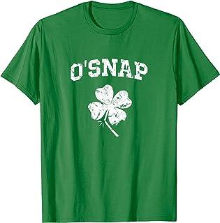 St. Patrick's Day O'Snap 4-Leaf Shamrock Funny T-Shirt