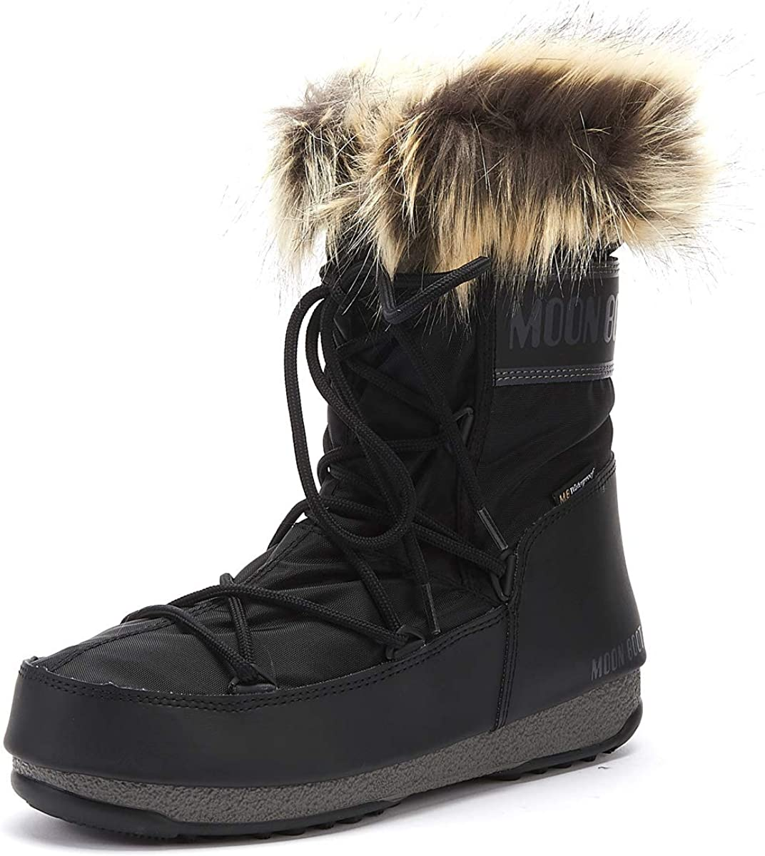 Moon-boot Unisex Adults Snow Boots, Black (Nero 001), 4 UK