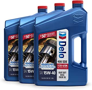 Delo 400 SDE SAE 15W-40 Motor Oil - 1 Gallon Jug, (Pack