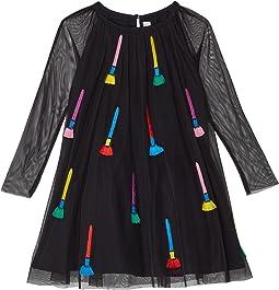 Paintbrushes Tulle Dress (Toddler/Little Kids/Big Kids)