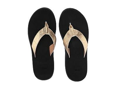Teva Voya Flip Metallic (Gold) Women