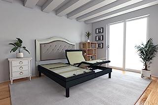 DynastyMattress DM9000s Split King Adjustable Bed Base Frame, Top of The Line Quality, (Independent Head Tilt & Lumbar Sup...