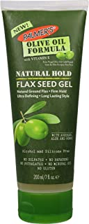 Palmer's Olive Oil Formula Natural Hold Flax Seed Hair Gel, 7 Ounces