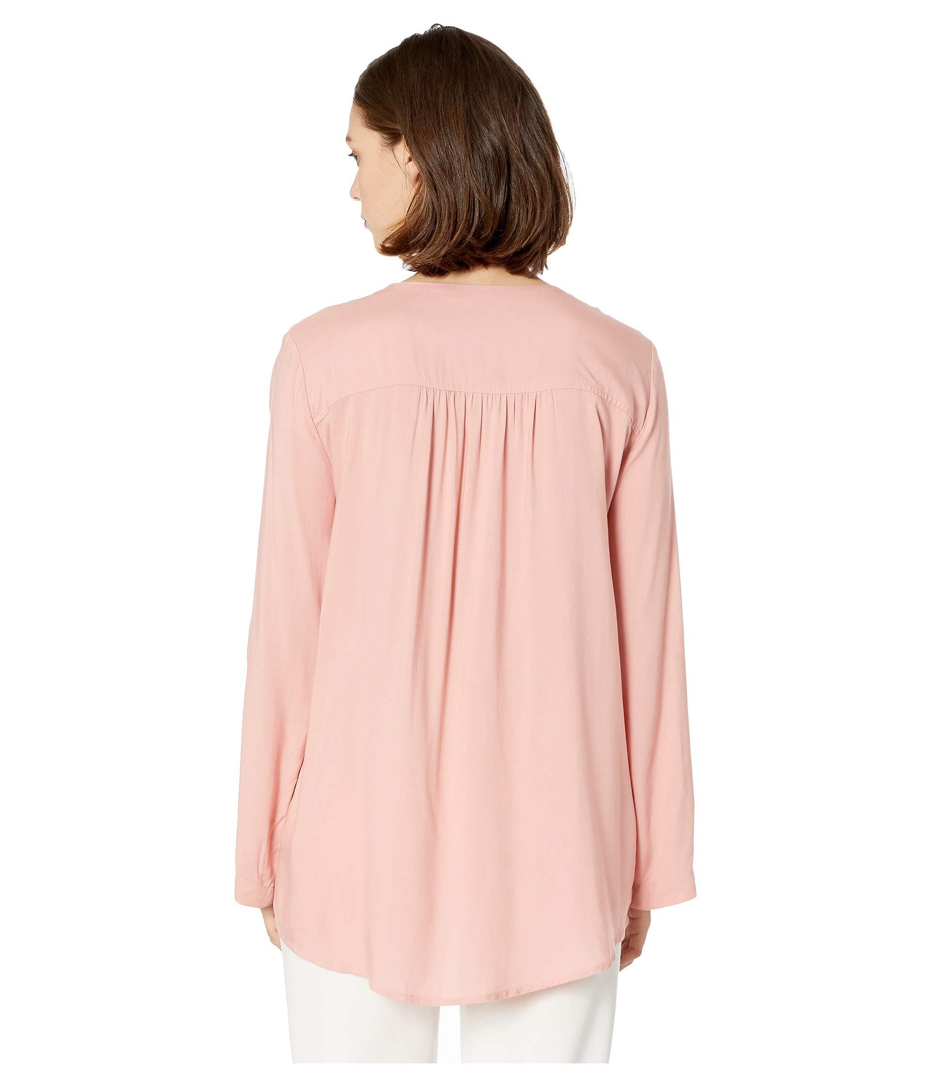 Asymmetric Petal up Zip Top Kane Pink Karen Hem SUwqPfZx6