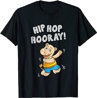 Dabbing Hip Hop Hooray Hippo Hippopotamus Baby Hippo T Shirt