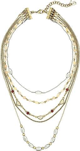 Lucky Brand Layer Choker Necklace