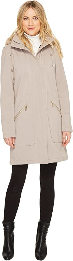 Ivanka Trump - Softshell Wide Pocket w/ Faux Fur