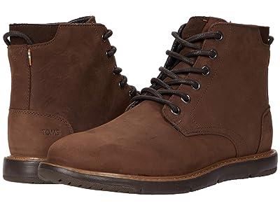 TOMS Hillside (Chestnut Leather) Men