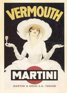 Vermouth Martini Advertising Postcard