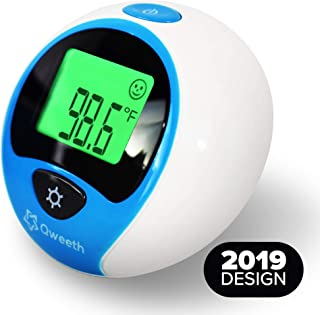 [New 2019 Model] Ear and Forehead Baby Thermometer for Fever - Temporal Medical Termometro Digital for Infant, Kids and Adults - Pouch and Extra Batteries Included- FDA and CE Approved