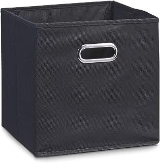 Fach Box KALLAX Schachtel Aufbewahrungsbox Kiste SCHWARZ IKEA DRÖNA 2 Stück SET