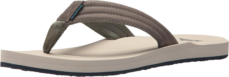 Quiksilver Men's Carver Tropics Sandal, Green bluee Grey, 13 M US