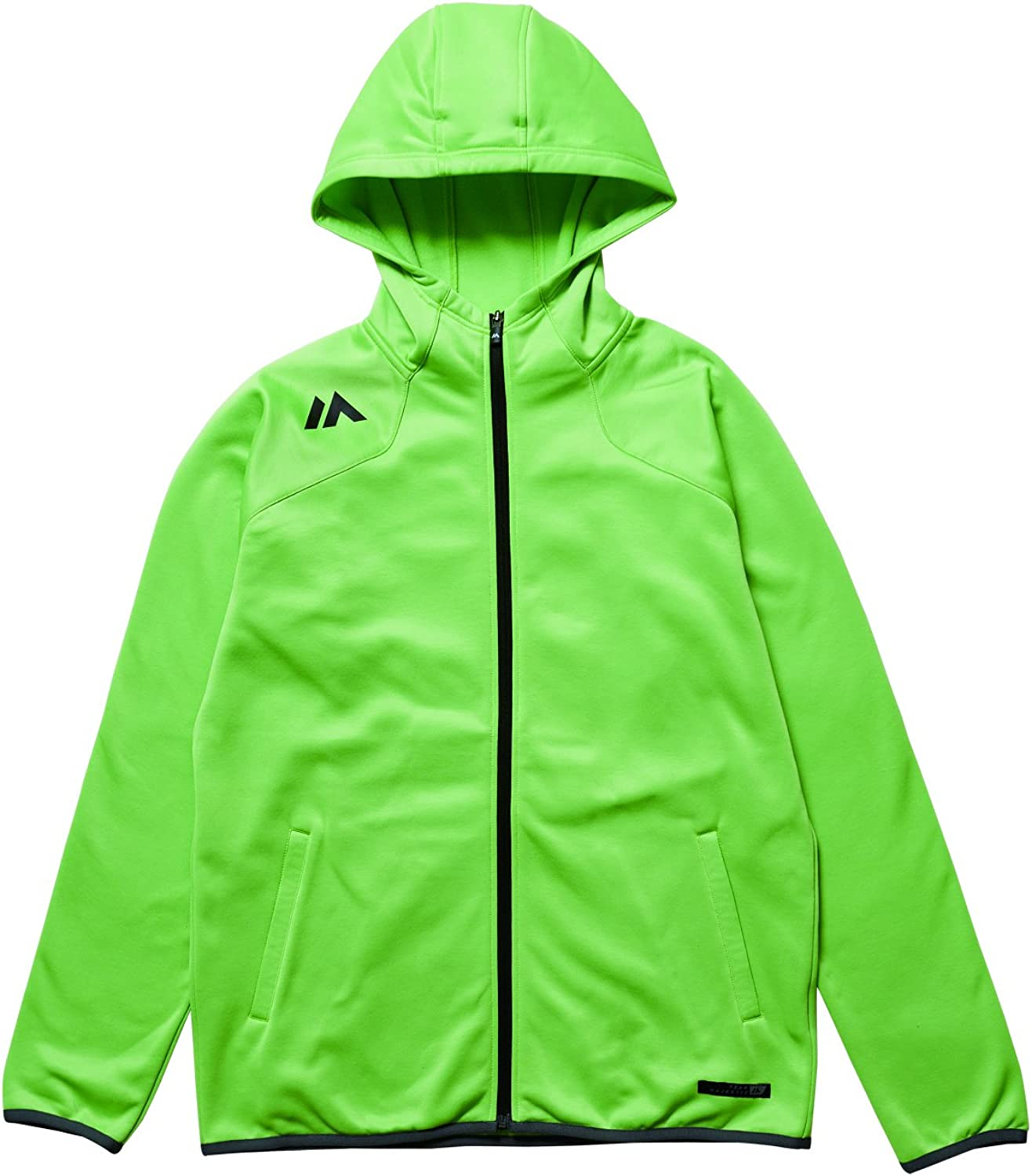 Majestic (Majestic) Authentic Training L.Weight Hooded Jacket [authentic training Parker jacket] XM23LIM5MAJ0019 lime M