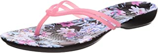 Crocs Womens 204196 Isabella Graphic Flip Flop