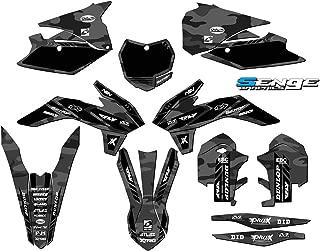 Senge Graphics kit compatible with KTM 2013-2014 SXF, Apache Matte Grey (MATTE FINISH) Complete Graphics Kit