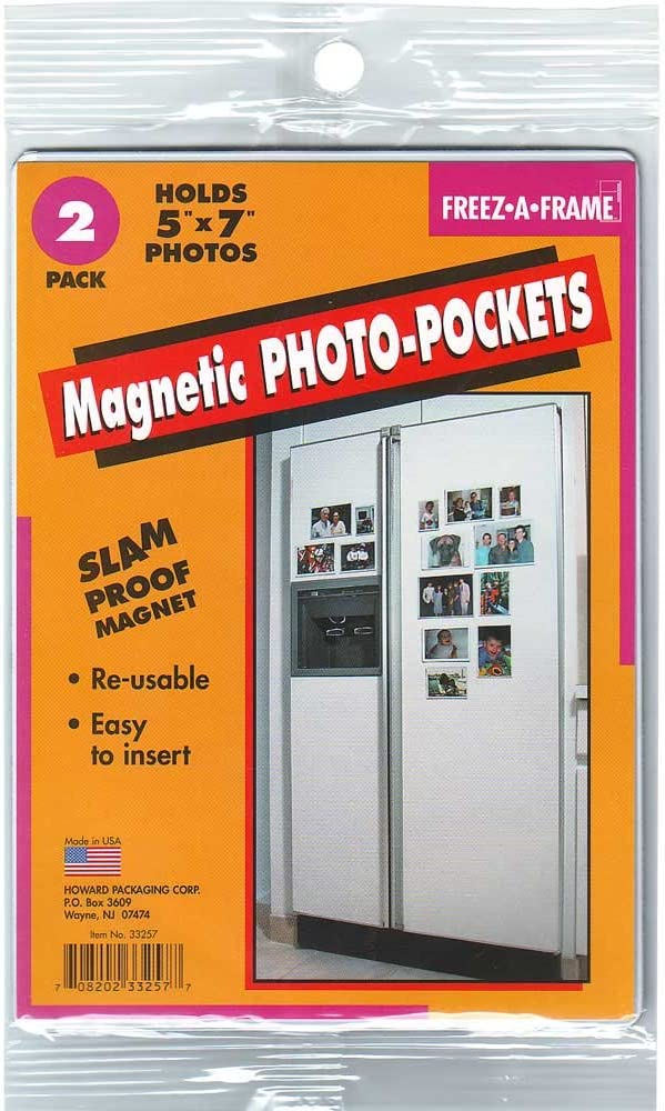 Freez-A-Frame Tampa Mall Magnetic 5 x 7 Frame pack Photo All items free shipping 2