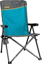 Uquip Justy Reclining Camping Chair with Adjustable Back, Heavy Duty, 260 lbs