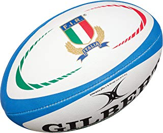 Gilbert Italy Rugby Replica Rugby Ball - Size 5