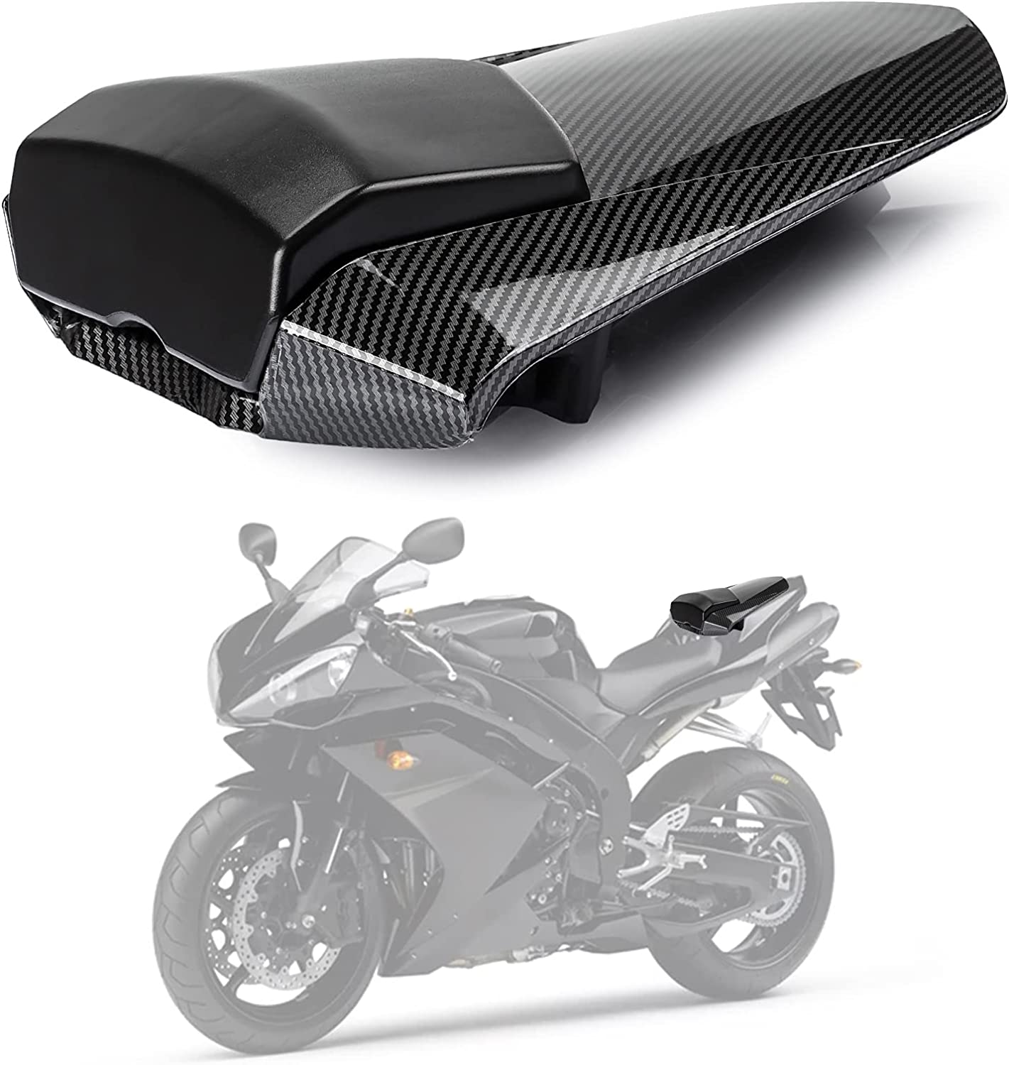 Details about  /New ABS Motorcycle Rear Seat Cover Cowl For 2009-2014 Yamaha YZF-R1