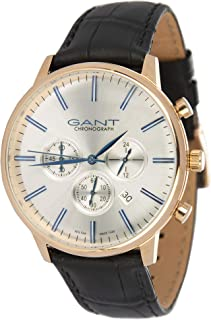 Gant Casual Watch Leather Band Analog Type For Men G Gww024005, Quartz