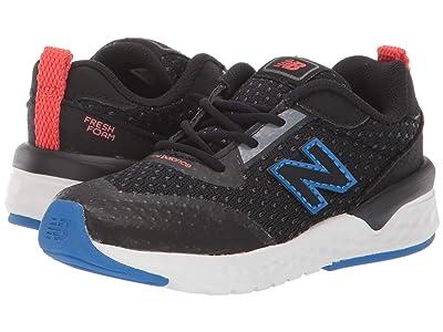 New Balance Kids 515v2 Sport (Infant/Toddler) (Black/Vivid Cobalt) Kids Shoes