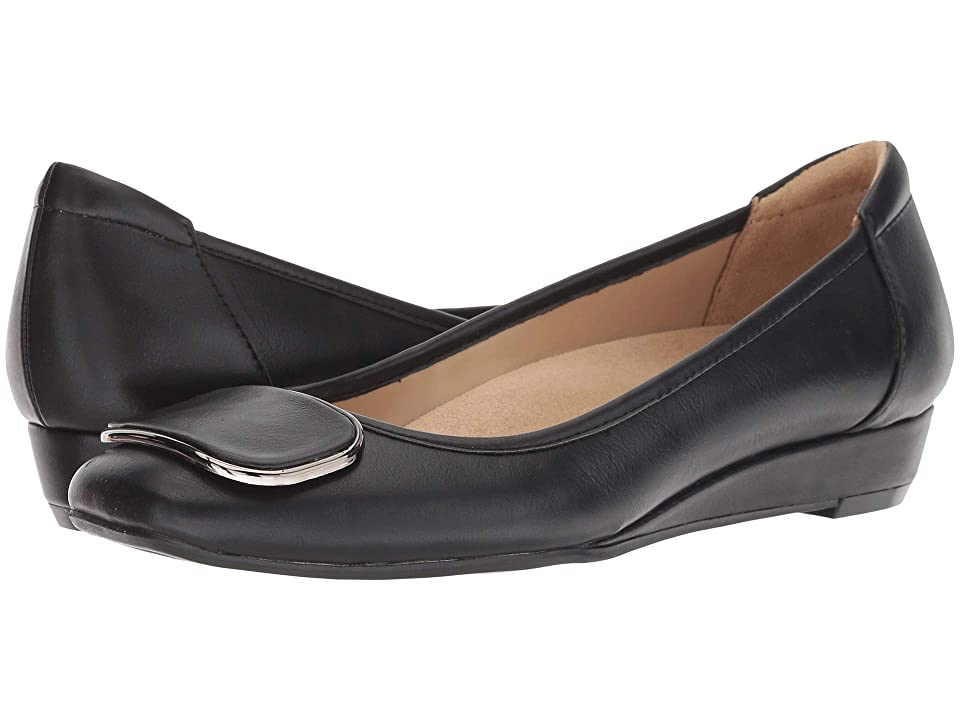 Naturalizer Courtney (Black Smooth Synthetic) Women