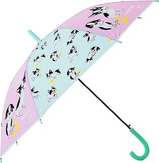 Kids Umbrella Windproof, HAOCOO Auto OpenCartoon Dog Umbrella Sun Rain Compact 8 Stick Umbrella Canopy for Boys Girls Outdoor (Green)