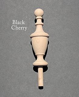 Wood Finial-Cherry-Oak-Maple-Walnut-Mahogany-Bed Post #62 (Cherry)