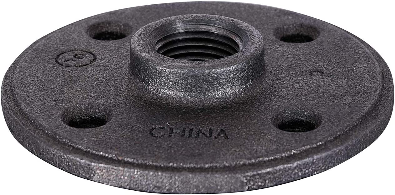 SUPPLY GIANT CNGM0056 Attention brand Black Malleable Scr Ranking TOP3 Floor Flange Four with