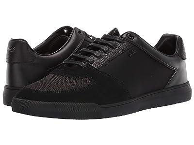 BOSS Hugo Boss Cosmo Ten Sneakers by BOSS (Black) Men