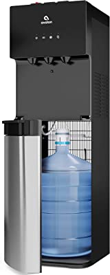 Avalon Bottom Loading Water Cooler Water Dispenser with BioGuard- 3 Temperature Settings - Hot, Cold & Room Water, Durable Stainless Steel Construction, Anti-Microbial Coating- UL/Energy Star Approved