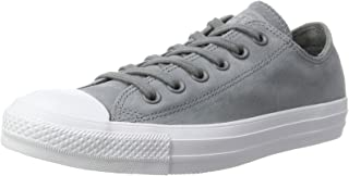 Converse CTAS OX Cool Grey/Cool Grey/White, Unisex Adults' Low-Top Sneakers
