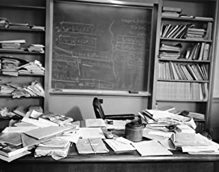 Albert Einstein's Desk The Day He Died Photo Art Photos Artwork 8x10