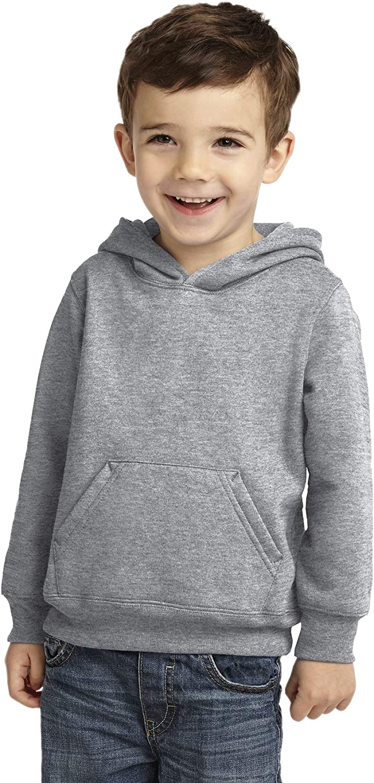 INK STITCH Toddler Unisex Core Fleece Port Company Pullover Sweatshirt Hoodie - 6 Colors