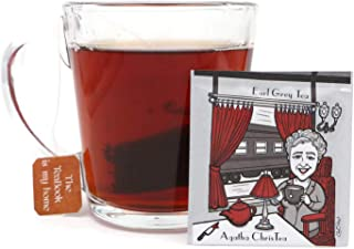 Author Series #2: Agatha ChisTea (Agatha Christie), Organic Earl Grey Tea (20 Tea Bags)