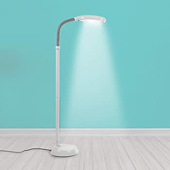 TROND LED Floor Light Gooseneck Floor Lamp for Reading