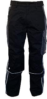 kermen 280/gr / Pantaloni da lavoro da uomo Berlin Pro /MADE IN EU verde // nero 5 anni